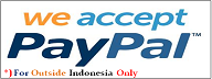 PayPal for Outside Indonesia Only